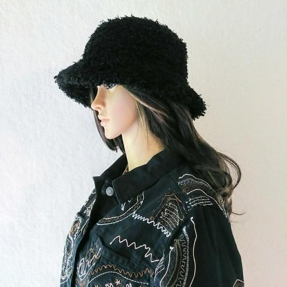 Cejon Black Shaggy Sparkly Bucket Hat. Cejon. M 5ba6482da31c33d69e3a7240.  M 5ba6485f409c153b9faf99f1. M 5ba648a6aa87704fe2e6b581.  M 5ba648ccf63eea36d8d92085 270ffd0fd21